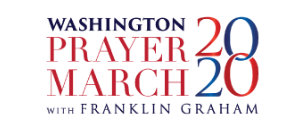 Washing Prayer march 2020 with Franklin Graham Logo